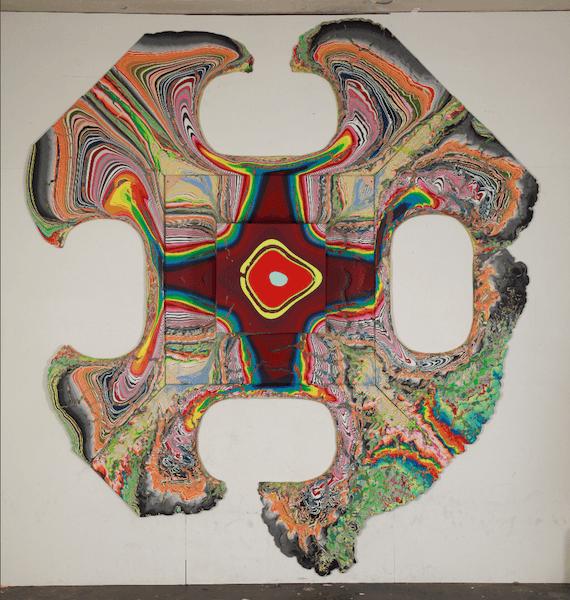 Flüssige Farbe ist das Medium von Holton Rower - das begeistert uns als Bremer Maler